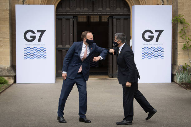 GBR: G7 Health Ministers Meeting