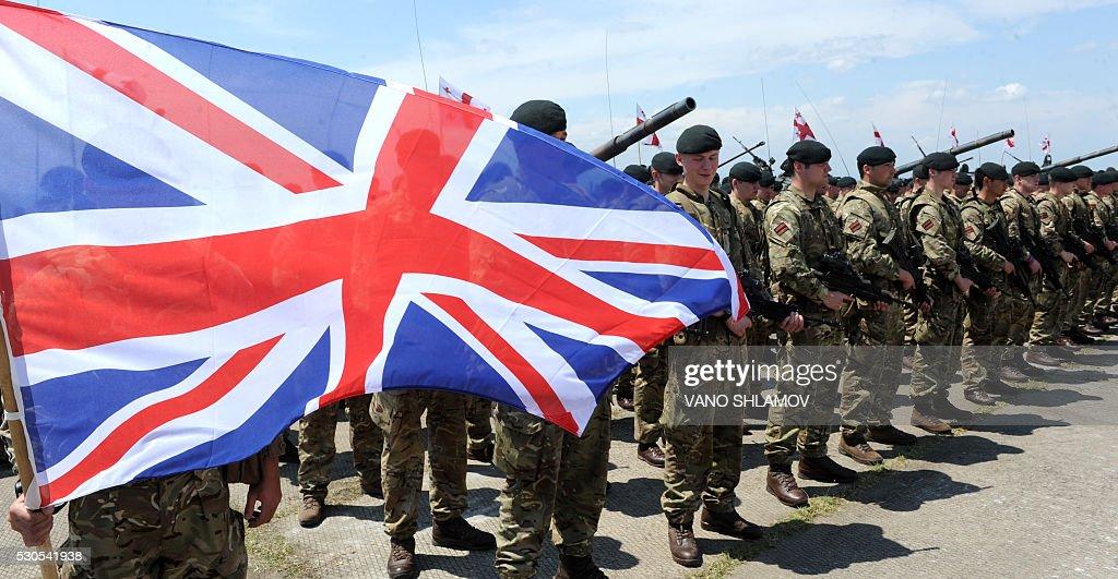 GEORGIA-US-UK-NATO-MILITARY : News Photo