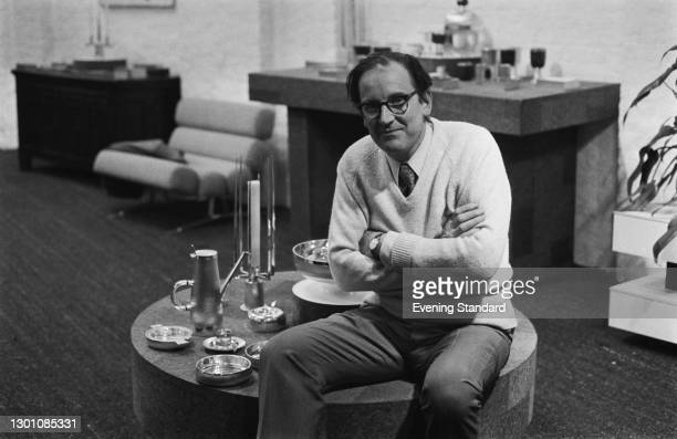 British silver and goldsmith Gerald Benney , UK, 2nd March 1973.