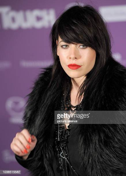 British singer Alex Hepburn attends the event of the InTouch Award 2014 in Duesseldorf Germany 23 October 2014 Photo Henning Kaiser/dpa | usage...