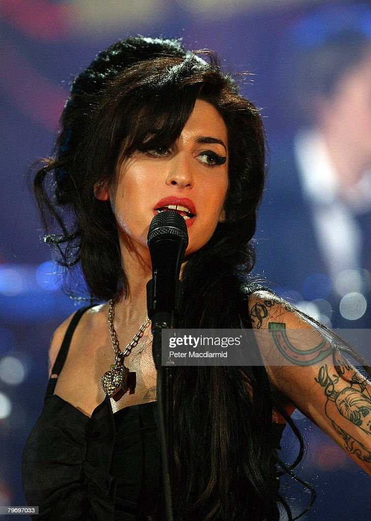 Amy Winehouse Performs For Grammy's Via Video Link : News Photo