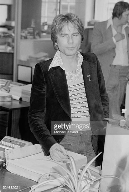 British singer and actor Adam Faith 5th September 1974
