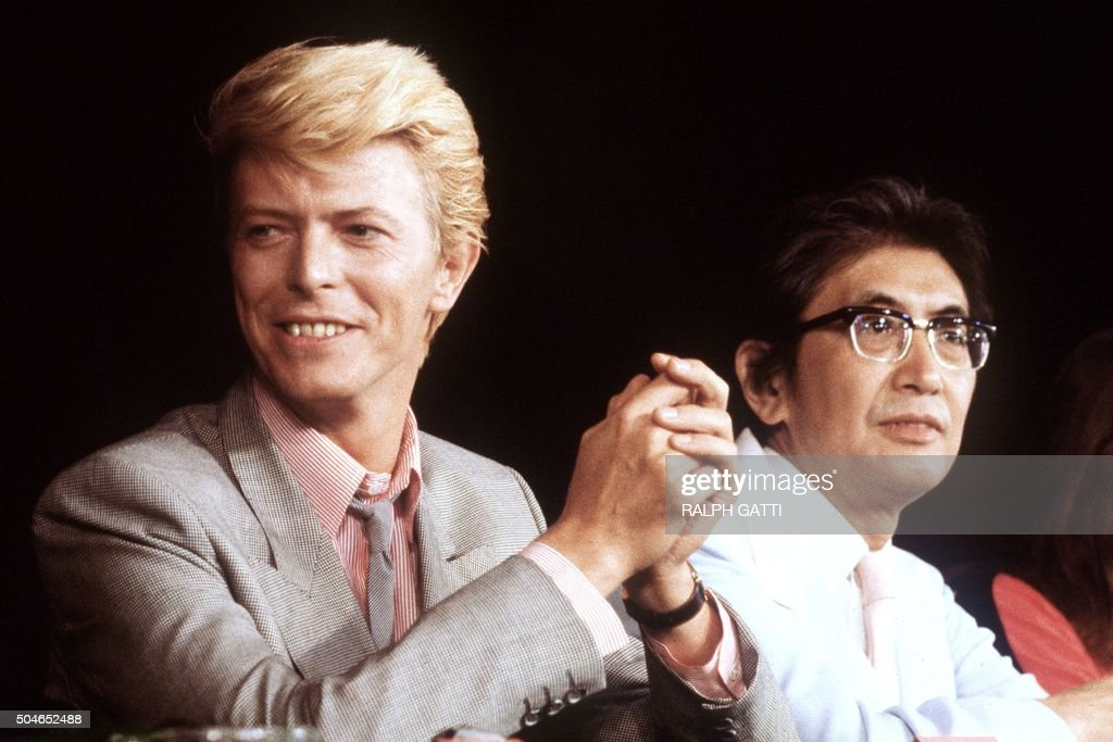british singer and actor david bowie gives a press conference presenting the japanese movie merry - British Christmas Movie