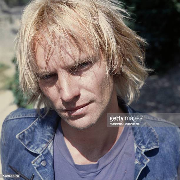 British singer and actor Sting