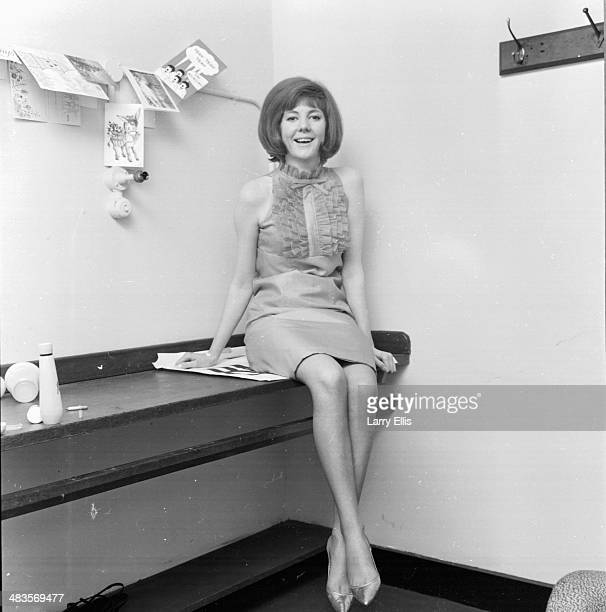 British singer and actress Cilla Black in her dressing room 9th January 1964