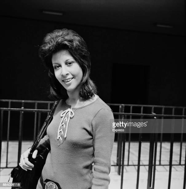 British singer and actress Helen Shapiro UK 7th May 1971