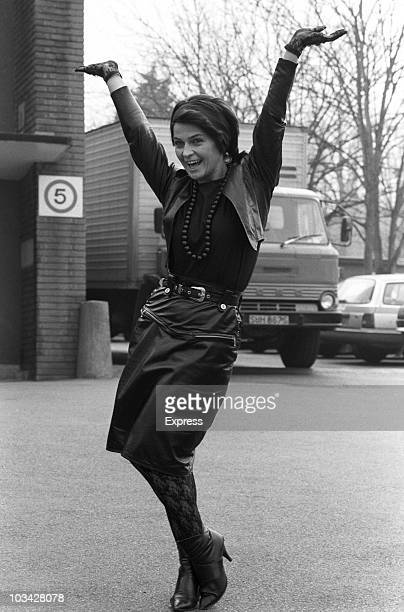 British singer and actress Toyah Willcox on March 22 1984