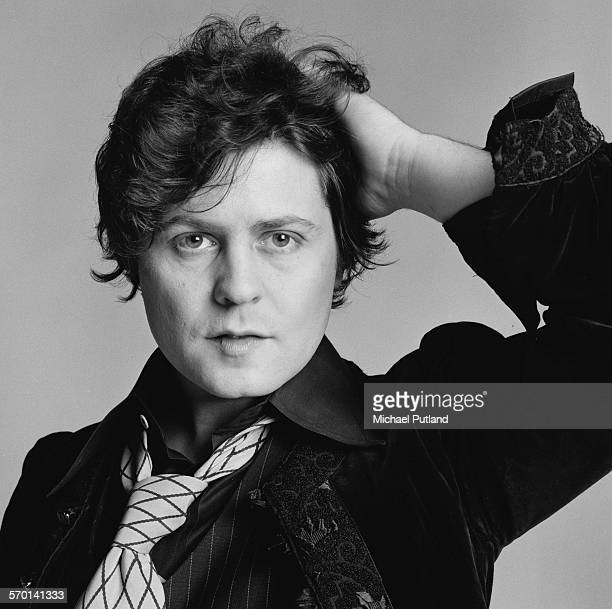 British singer and guitarist Marc Bolan of glam rock group TRex London 18th June 1976