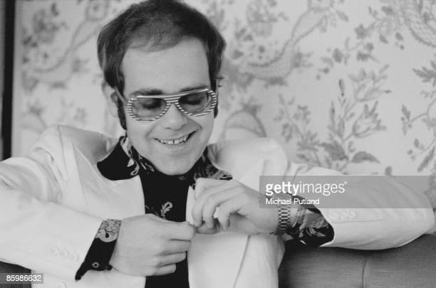 British singer and musician Elton John in London November 1973