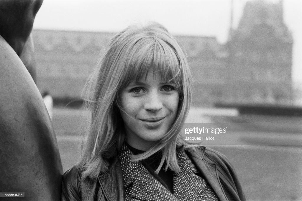 British singer Marianne Faithfull : News Photo