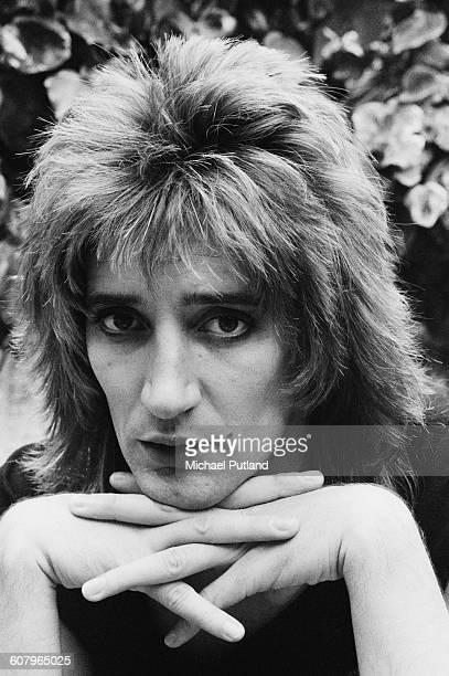 British singer and songwriter Rod Stewart London 17th June 1976