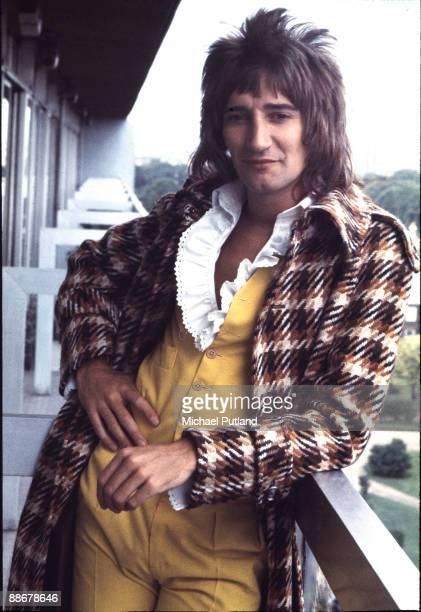 British singer and songwriter Rod Stewart London 1974