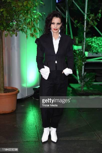 British singer Anna Calvi attends the International Music Awards at Verti Music Hall on November 22 2019 in Berlin Germany