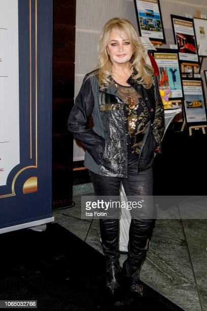 British singer Bonnie Tyler during the 10th Laughing Hearts Charity Gala at Grand Hyatt Hotel on November 24 2018 in Berlin Germany
