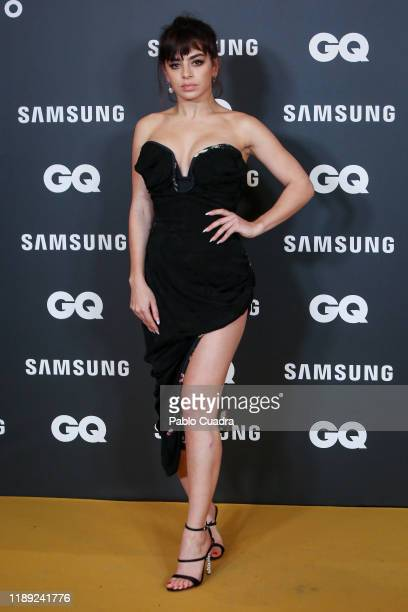 British singer Charli XCX attends 'GQ Men Of The Year' awards 2019 at Westin Palace Hotel on November 21, 2019 in Madrid, Spain.