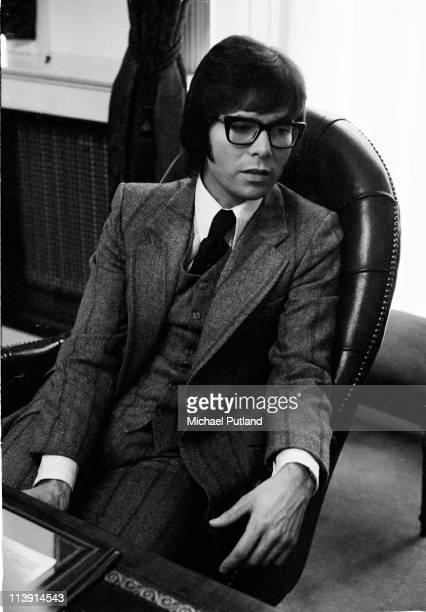 British singer Cliff Richard, London, 1st December 1970.