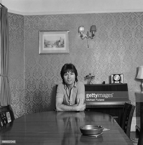 British singer Cliff Richard May 1976