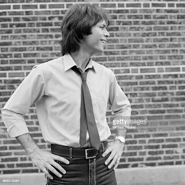 British singer Cliff Richard October 1983