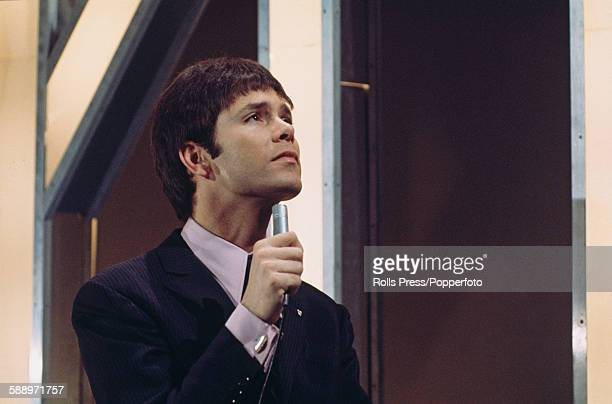 British singer Cliff Richard pictured performing the song 'Congratulations' the United Kingdom's entry in the Eurovision Song Contest on the Cilla...