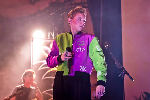 DEU: La Roux Perform In Berlin