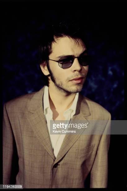 British singer Gaz Coombes of rock group Supergrass, UK, February 1997.
