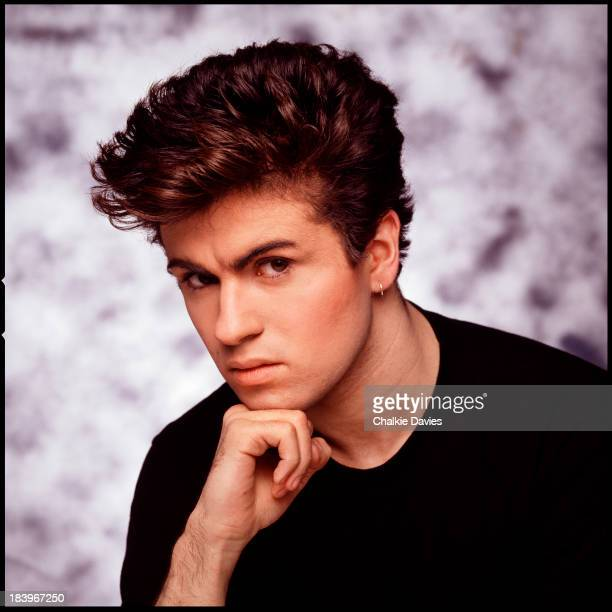 British singer George Michael of Wham London 1983