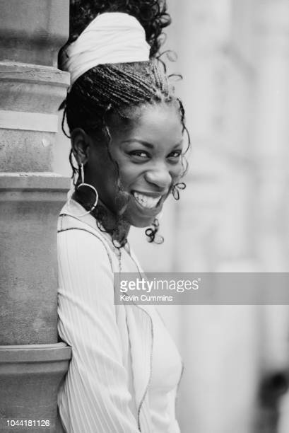 British singer Heather Small of dance music band band M People Paris circa 1995