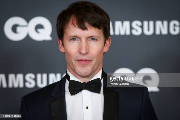 British singer James Blunt attends 'GQ Men Of The Year' awards 2019 at Westin Palace Hotel on November 21 2019 in Madrid Spain