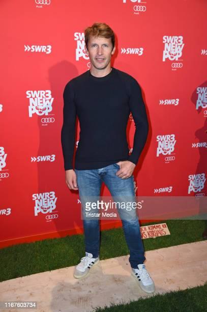 "British singer James Blunt attends the ""SWR3 New Pop Festival - Das Special on September 12, 2019 in Baden-Baden, Germany."