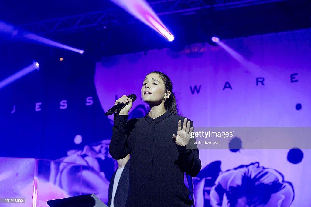 British singer Jessie Ware performs live during Berlin