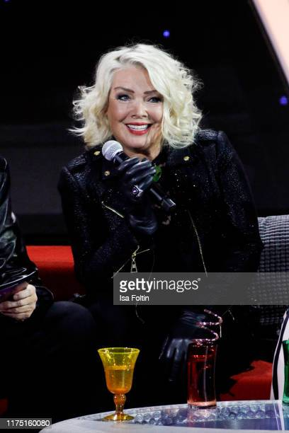 British singer Kim Wilde at Gottschalks Grosse 80er Show on September 6 2019 in Hanover Germany
