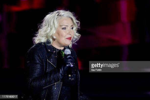 British singer Kim Wilde performs at Gottschalks Grosse 80er Show on September 6 2019 in Hanover Germany