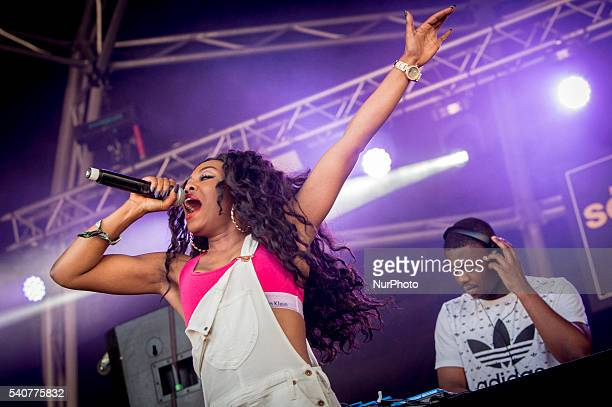 British singer Lady Leshurr during her performance at Sonar 16 in Barcelona Spain on June 16 2016