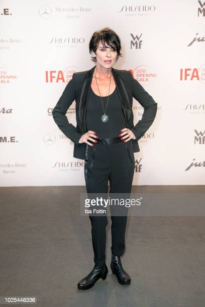British singer Lisa Stansfield attends the IFA 2018 opening gala on August 31, 2018 in Berlin, Germany.