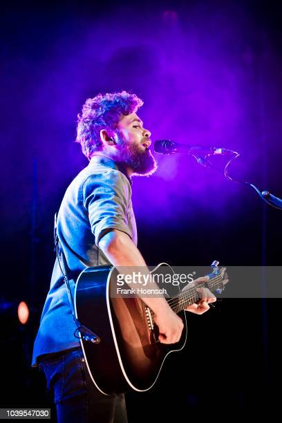 British singer Michael David Rosenberg aka Passenger performs live on stage during a concert at the Astra on September 24 2018 in Berlin Germany