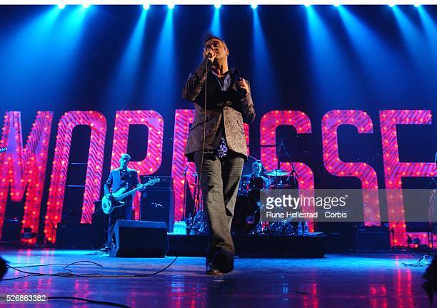 British singer Morrissey performs at the Royal Festival Hall