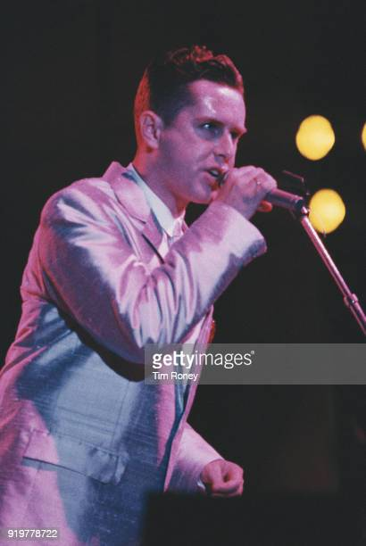 British singer musician and author Holly Johnson of Frankie Goes to Hollywood circa 1985