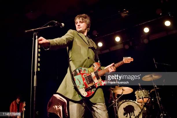 British singer Pete Doherty performs live on stage during a concert at the Astra on May 19, 2019 in Berlin, Germany.