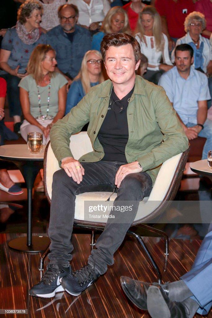 'Markus Lanz' TV Show From Hamburg