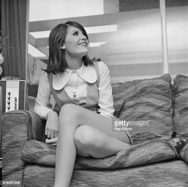 British singer Sandie Shaw UK 18th March 1968