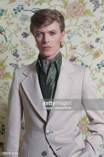 British singer songwriter and actor David Bowie Paris 28th June 1977