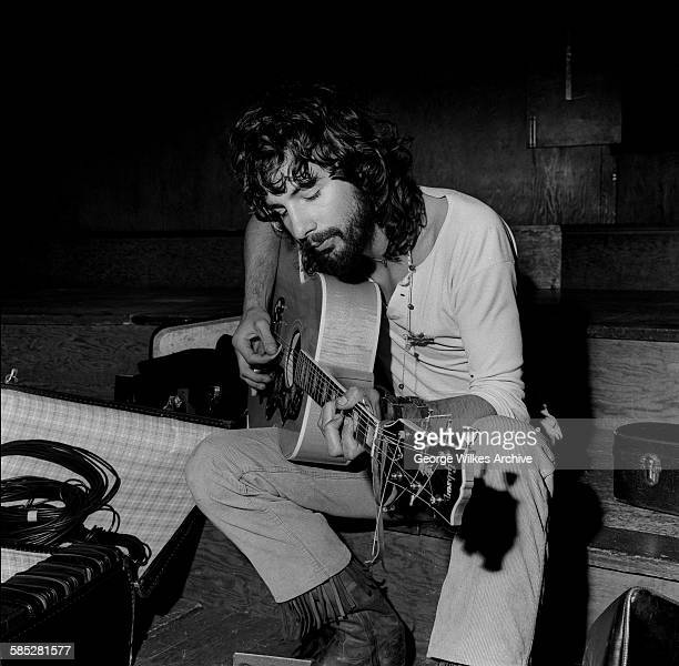 British singer songwriter and musician Cat Stevens later known as Yusuf Islam