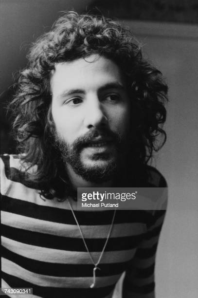 British singer songwriter and musician Cat Stevens later Yusuf Islam pictured in London 25th May 1972