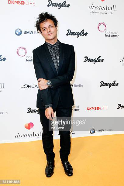 British singer songwriter Jamie Cullum attends the Dreamball 2016 at Ritz Carlton on September 29 2016 in Berlin Germany