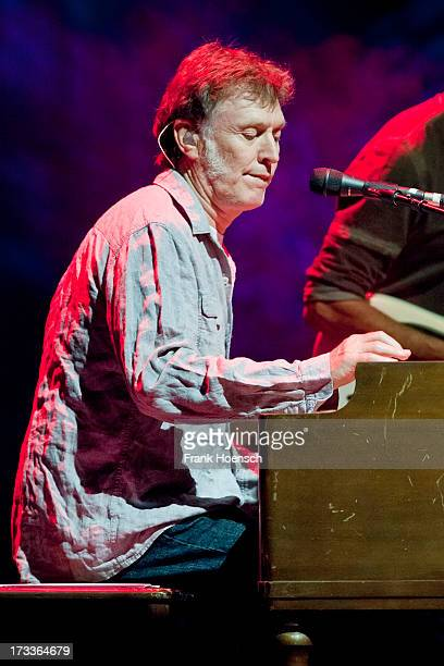 British singer Steve Winwood performs live during a concert at the Admiralspalast on July 12 2013 in Berlin Germany