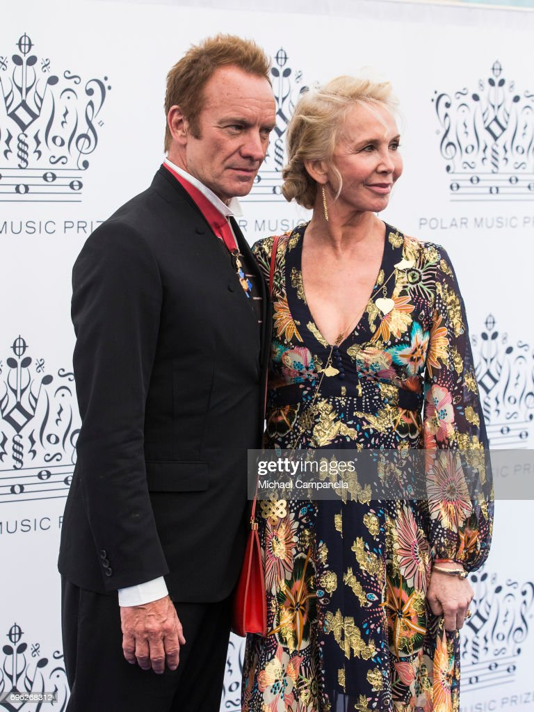 British Singer Sting attends Polar Music Prize on June 15, 2017 in Stockholm, Sweden.