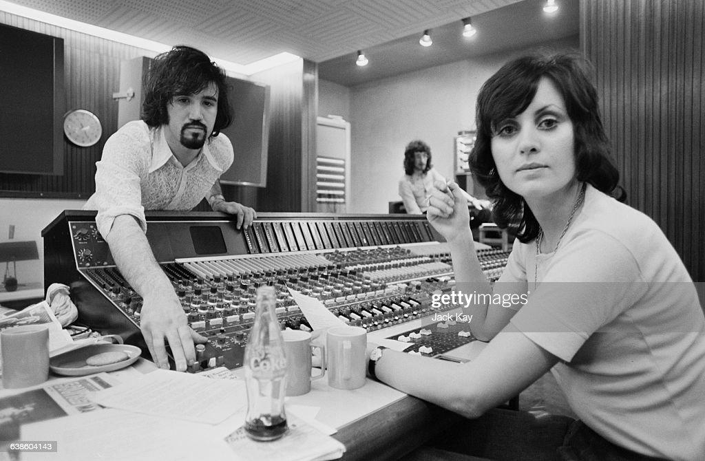 Sylvia McNeill And Tony Macaulay : News Photo