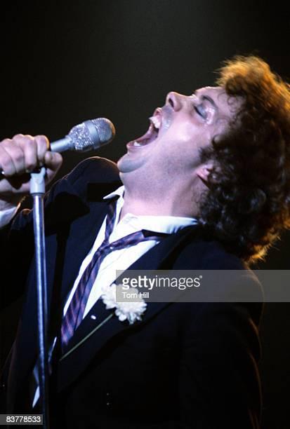 British singer/actor Tim Curry performs at The Agora Ballroom on November 6 1978 in Atlanta Georgia United States