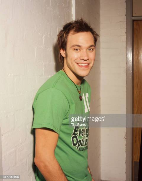 British singersongwriter and actor Will Young circa 2001