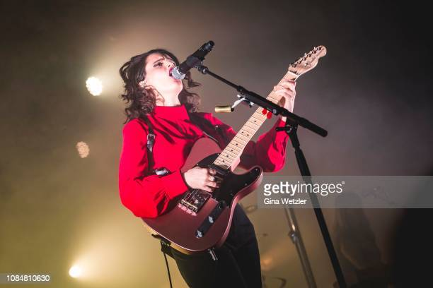 British singersongwriter and guitarist Anna Calvi performs live on stage during a concert at Astra on January 18 2019 in Berlin Germany